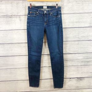 Hudson skinny mid rise jeans Size 26